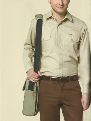 Camisa Masculina Botões Cobertos